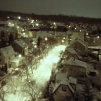 Zima v Hloubětíně