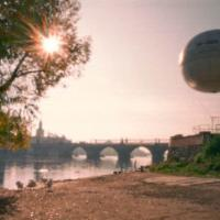 Balón nad Karlovým Mostem
